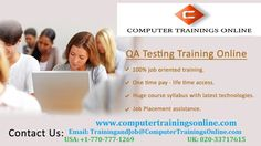QA Testing Online Training and Placement in USA, UK, Canada, Aus