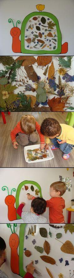Fall snail #kids #craft #autumn