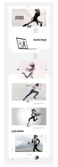 Klimov Design. Website portfolio on Behance: