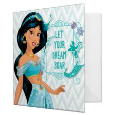 Princess Jasmine Binders