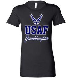 U.S. Air Force Granddaughter Women's T-Shirt