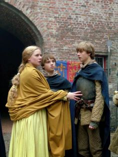 Clothing medieval - the white Queen (Movie) - Elisabeth Woodville