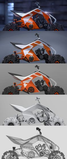 KTM X2 HYBRID on Behance