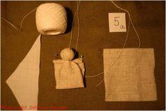 Ангел на пальчик. Мастер-класс Светланы Ноакес. Йорк, Великобритания Christmas Crafts Sewing, Handmade Christmas, Sewing Crafts, Doll Crafts, Diy Doll, Jute Crafts, Paper Doilies, Cute Toys, Doll Hair