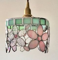Stained Glass Lamps, Stained Glass Designs, Stained Glass Patterns, Leaded Glass, Lamp Shades, Light Shades, Childrens Lamps, Tiffany Lamps, Pendant Lamp