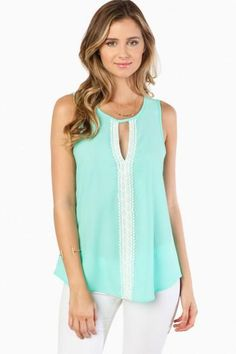 MIRI TANK TOP IN MINT