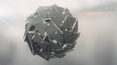 Houdini and After Effects – Creating a Sci-Fi Assembly of a Design Sphere Tutorial