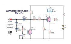 flyback-transformer-tester-circuit-using-2SC828