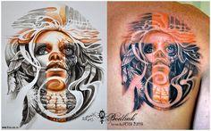 Peter Žuffa 2013 #art #tat #tattoo #tattoos #tetovanie #original #tattooart #slovakia #zilina #bodliak #bodliaktattoo #bodliak_tattoo #portrait_tattoo