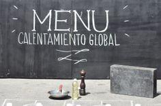 """""""Global Warming Menu"""" en Asunción del Paraguay."""
