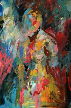 An Original Acrylic Impressionistic by ArtbyKelliGedvil on Etsy