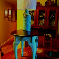 End table redo these colors for dining room table