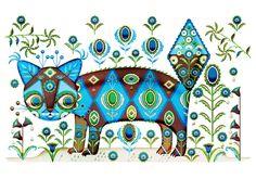 putte the cat | SPECIAL PRINTS | Shop | Klaus Haapaniemi