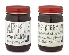 Jme jams - awesome packaging.