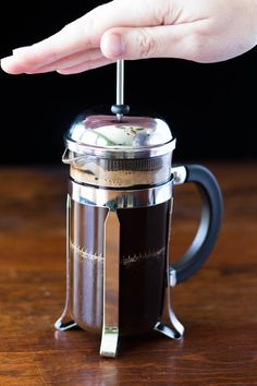 f you've never learned how to make French press coffee, you're missing out! It's easy as pie and produces the most perfectly brewed coffee.  #SilkSiptoSpoon #ad                                                                                                                                                                                 More