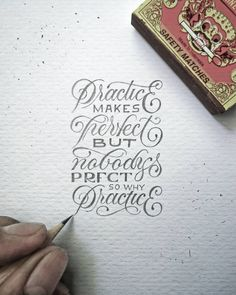 """Practice makes Perfect but nobody's Perfect so why Practice?"" - Kurt Cobain  guess whatttt? its ADDICTING!.  #letteringmalang #kaligrafina #belmenid by dekedex"