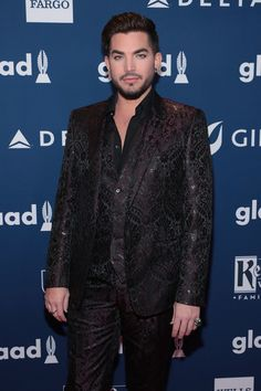 Adam Lambert Photos - Adam Lambert attends the 29th Annual GLAAD Media Awards at The Hilton Midtown on May 5, 2018 in New York City. - 29th Annual GLAAD Media Awards - Red Carpet