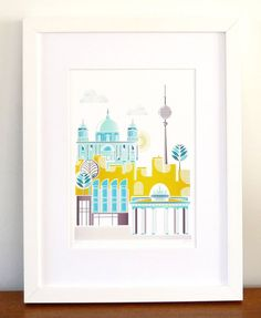 Berlin Germany by lauraamiss on Etsy, €10.00