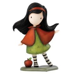 Gorjuss Little Figurine, Red