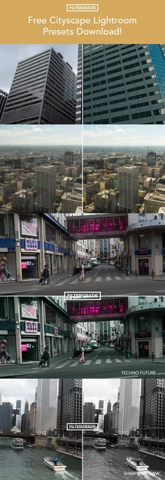 Free urban and street photography lightroom presets from FilterGrade. Edit cityscapes and urban architectural photography. #streetphotography