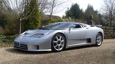 An already rare Bugatti supercar made even rarer. This 1993 Bugatti EB110 SS by Brabus is the only one ever built. - Road & Track