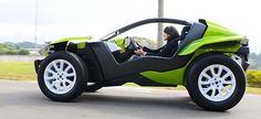 Vw Beach, Beach Buggy, E Quad, Futuristic Cars, Kit Cars, Small Cars, Go Kart, Electric Cars, Sport Cars