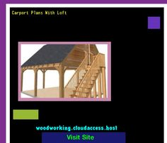 Carport Plans With Loft 215651 - Woodworking Plans and Projects!