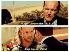 One of the best and frequently missed jokes in Avengers