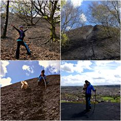 Local walk up a hill was great fun today.