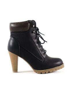 ΜΠΟΤΑΚΙ ΜΑΥΡΟ Bellisima, Timberland Boots, Booty, Ankle, Boutique, Shoes, Fashion, Moda, Swag