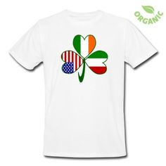 fee7659f Fun image shows a shamrock with a flag in every leaf, One each for Italy