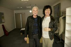 Jimmy Page and Jeff Beck, Tokyo ~ April, 2014.
