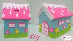 Kids Crafts, Baby Crafts, Felt Crafts, Diy And Crafts, Arts And Crafts, Easy Gingerbread House, Felt Angel, Tutorial Diy, Felt House