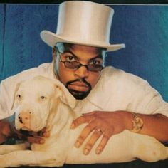 Rappers w/ Puppies: Ice Cube