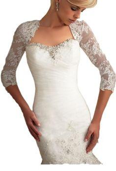 Elegant Beading Lace Tulle Bridal Wedding Wrap (4, White) Crystal Dresses,http://www.amazon.com/dp/B00I6XDKBY/ref=cm_sw_r_pi_dp_LkVotb0DC8KB6X2E