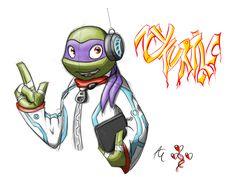 NY Turtle - Donatello by agnes0177.deviantart.com on @deviantART
