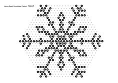 First, you learned how to make snowflakes using hama beads (perler beads) and a hexagonal pegboard. Description from crafts.tutsplus.com. I searched for this on bing.com/images