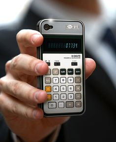 iPhone case - can be found at http://www.amazon.com/Fred-Cover-Snap-On-Calculator-iPhone/dp/B004XTKGSA