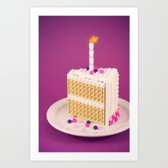 Care for a Slice? Art Print by Powerpig - $16.00
