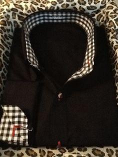 One of a kind Custom Men's Dress Shirt just made for him.                                              Simply Original - Always Refined!     http://denisemcbride.jhilburn.com/
