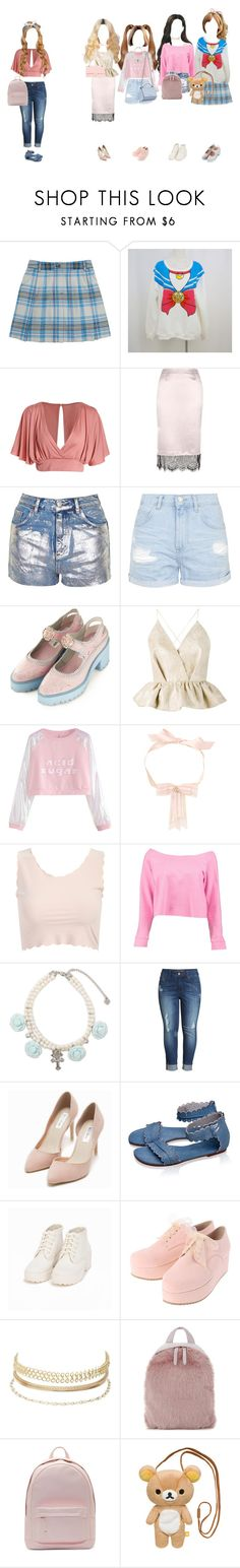 """""""You Cant Sit With Us"""" by everysimpleplan ❤ liked on Polyvore featuring Brooks Brothers, River Island, Topshop, Delpozo, Boohoo, Melissa McCarthy Seven7, Nly Shoes, Givenchy, Charlotte Russe and Skinnydip"""