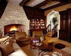 Love the #fireplace