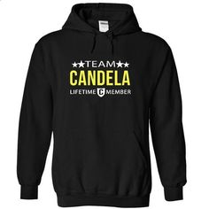 Team CANDELA! - #mens tee #hoodie for teens. PURCHASE NOW => https://www.sunfrog.com/Christmas/Team-CANDELA-8514-Black-4480909-Hoodie.html?68278