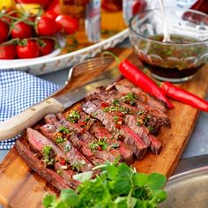 Healthy Dessert Recipes, Desserts, Healthy Food, Sugar And Spice, Lchf, Summer Recipes, Steak, Spices, Vegetarian
