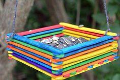 Bird feeder - Great for kid craft!!!