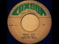 Wailing Souls - back out with it + version ('69)