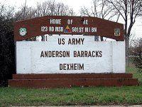 Anderson Barracks, Dexheim Germany