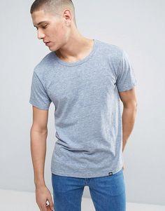 CHEAP MONDAY STANDARD SHELL T-SHIRT - BLUE. #cheapmonday #cloth #
