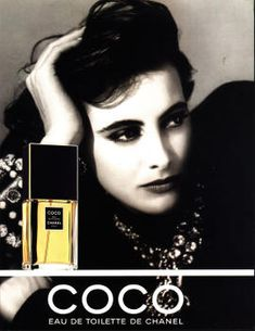 Coco by Chanel with Ines de la Fressange (1990).