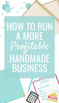 If you're selling lots of handmade product but are wondering where all the profits are, you may be neglecting to cover these important costs.